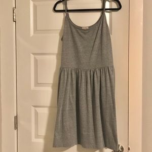 L Gray Dress With Pockets